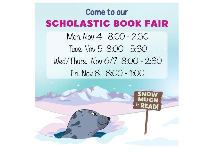 Image of Book Fair Notice Nov 4 - 8