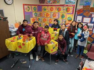 On this #GivingTuesday Madison students learn the importance of giving to the less fortunate.