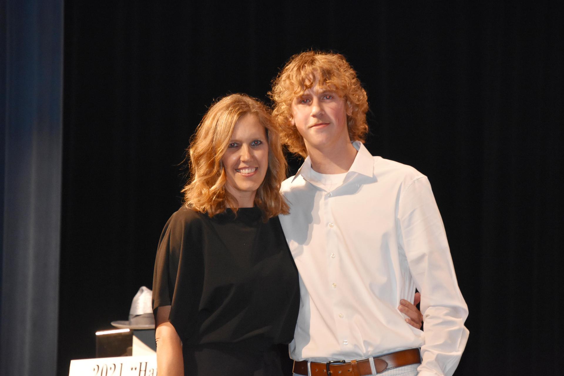 Luke Bagg and Kristy Williams