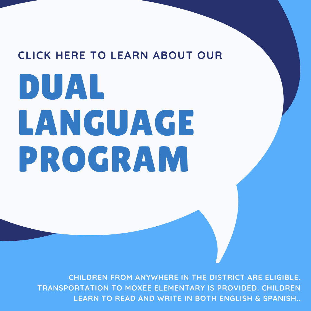 CLICK HERE TO LEARN ABOUT OUR DUAL LANGUAGE PROGRAM.