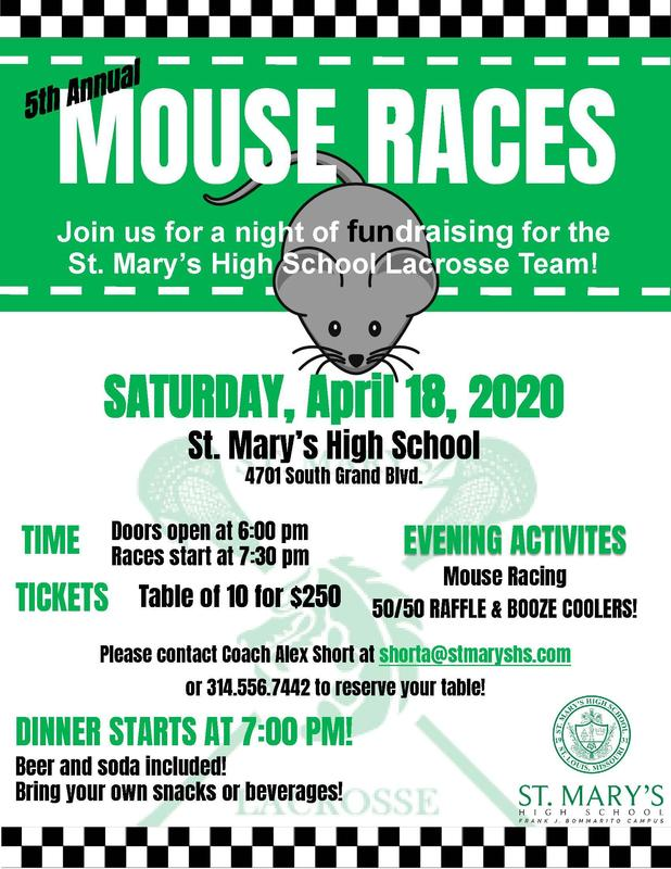 A Night at the Mouse Races on April 18th
