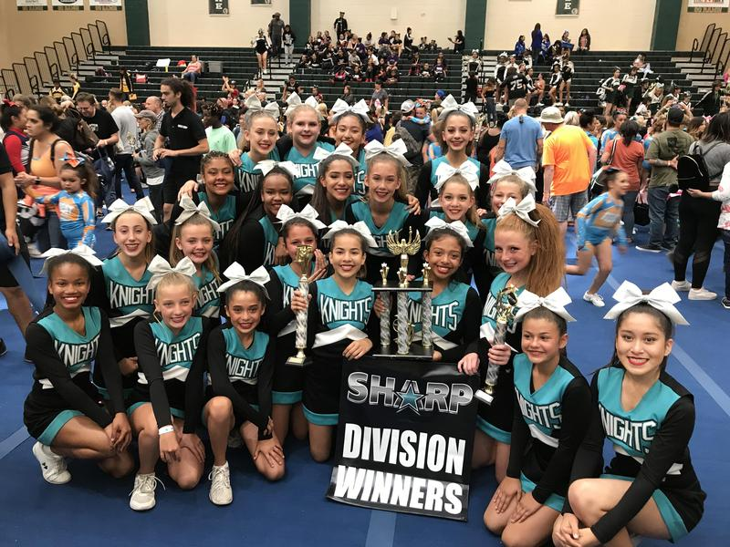 Dartmouth Cheer wins another trophy!