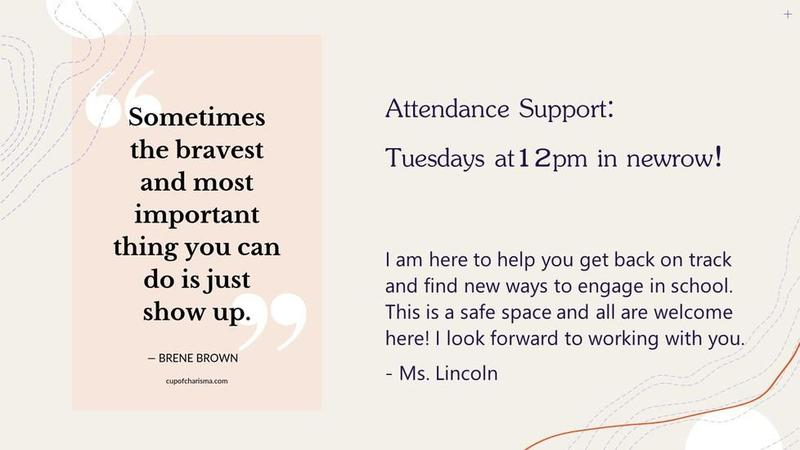 Have questions about attendance? Featured Photo