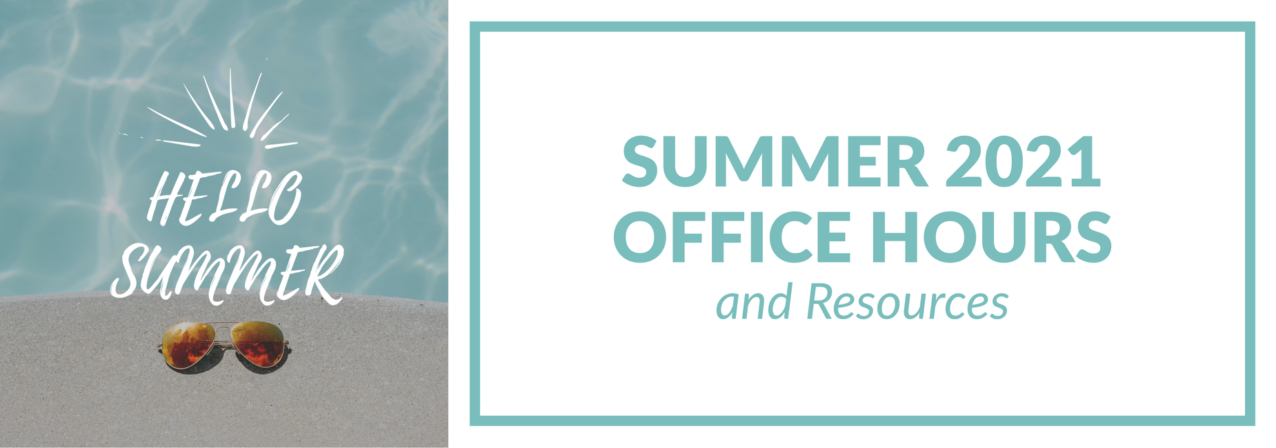 Summer 2021 Office Hours