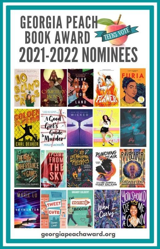 Georgia Peach Award 21-22 Nominees