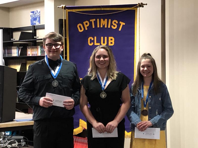 2019 Optimist Speech Contestants And Award Winners Thumbnail Image
