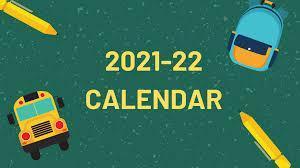 2021-2022 Academic Calendar Thumbnail Image