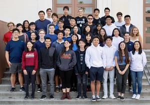 Group photo - National Merit Scholarship students