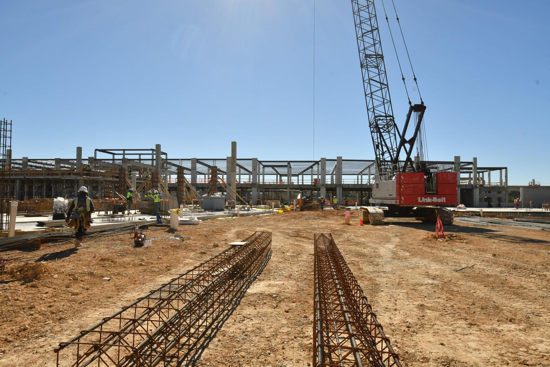 High School 4 construction