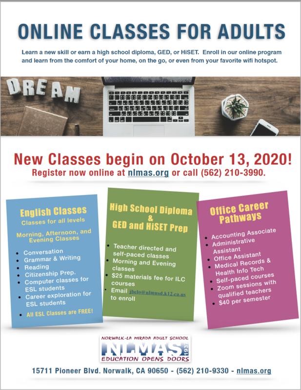 Register for Fall Session II Classes! Featured Photo