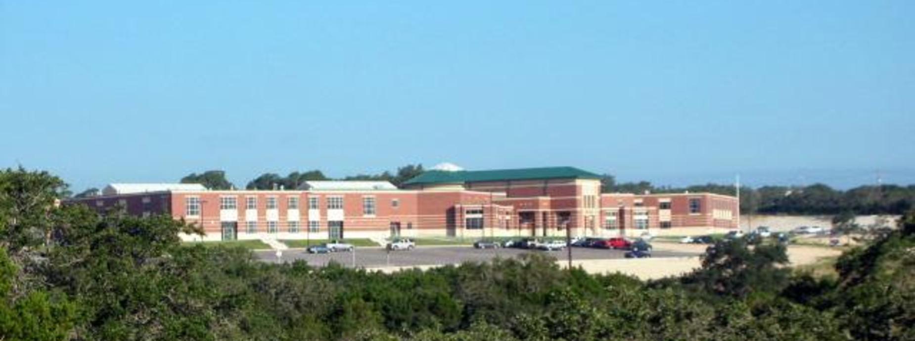 Arial of Canyon Lake High School