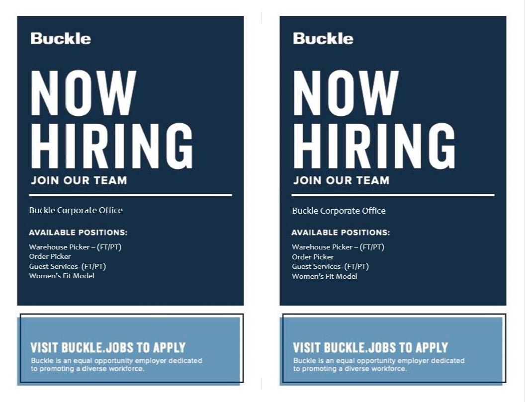 buckle job image