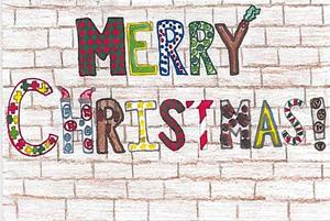 District Christmas card winner