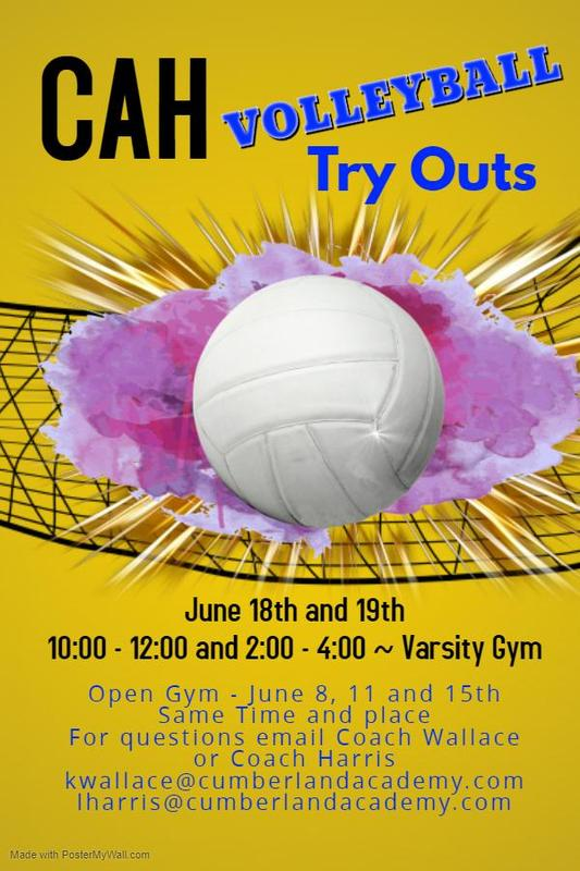 20-21 CAH Volleyball Tryouts & Open Gym Info Featured Photo