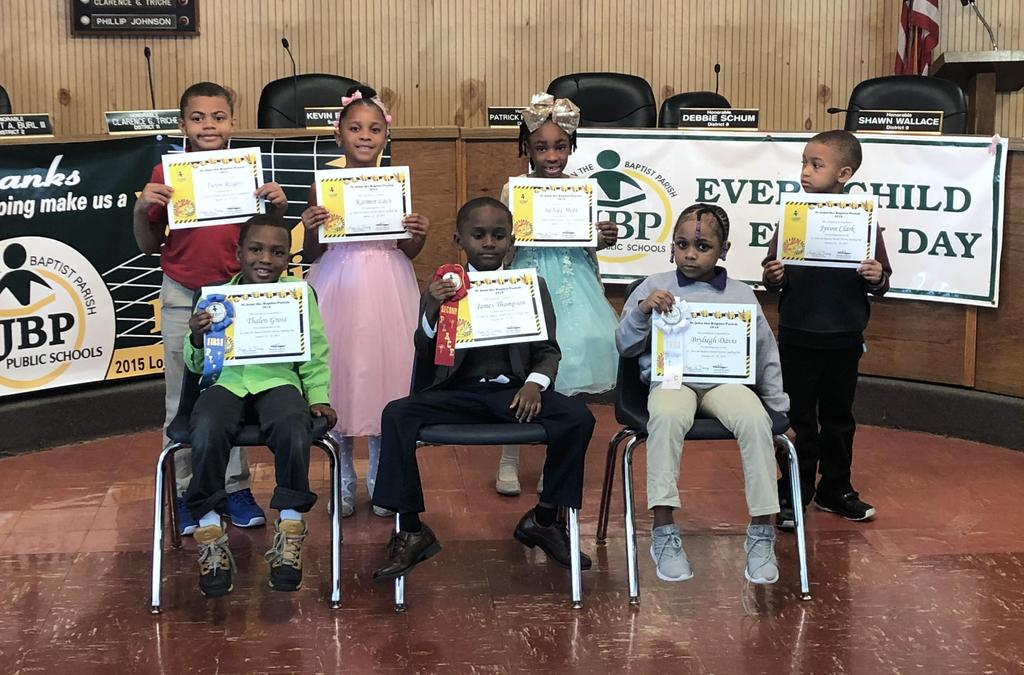 St. John the Baptist Parish District Spelling Bee