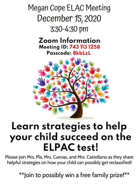12-15 ELAC Meeting