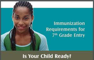 7th Grade - Immunization Requirements
