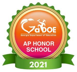 2021 AP Honor School Badge