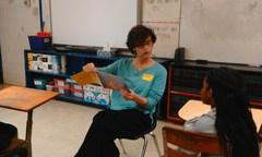 Ms. Donatta reading