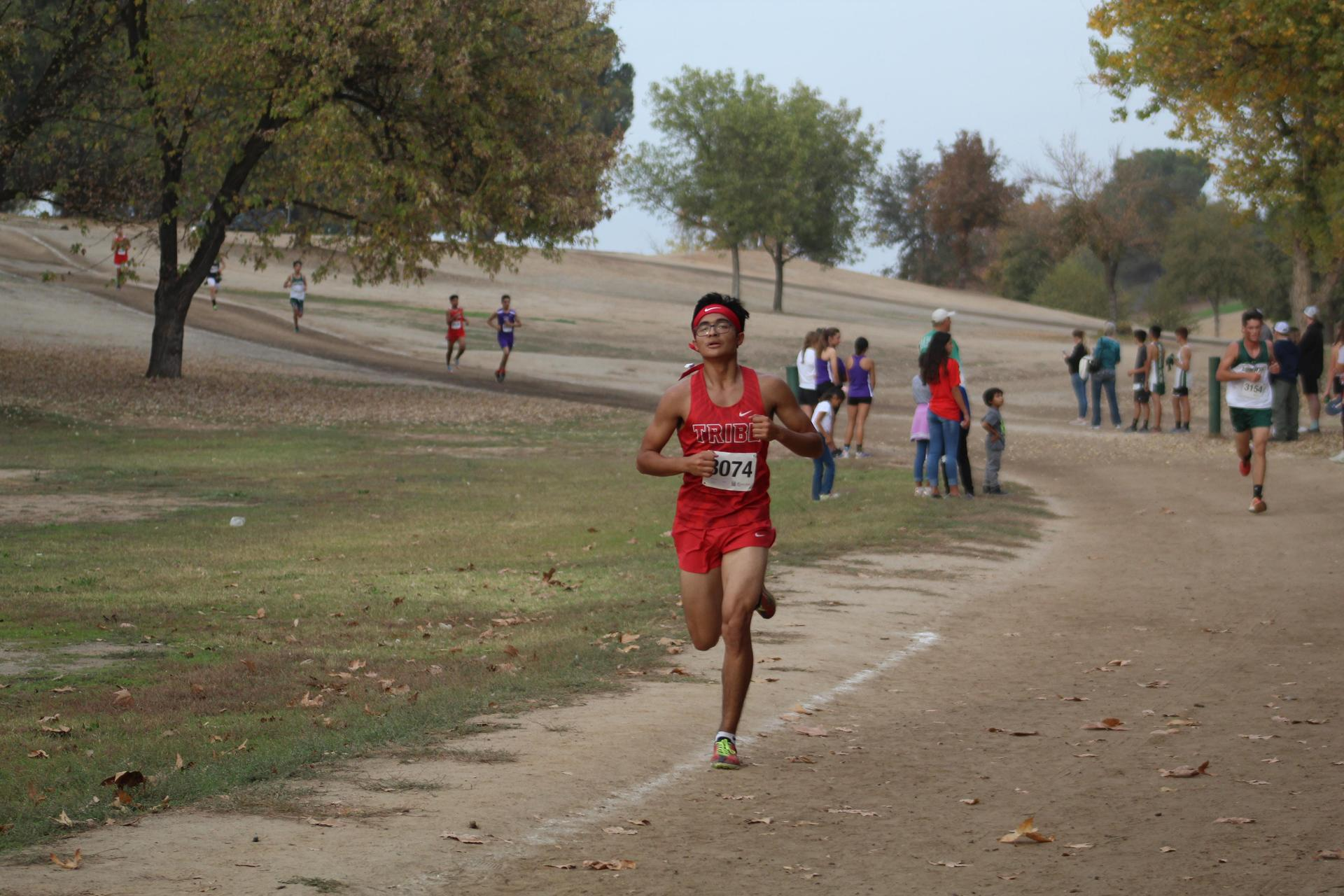 Angel Ramirez running