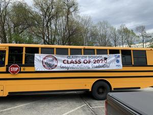 Clairview School 2020 Graduate Parade