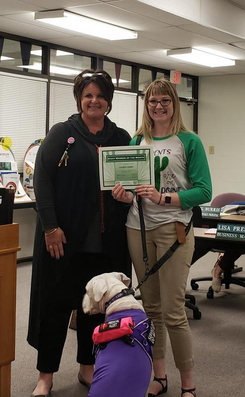 CES February Staff Member of the Month