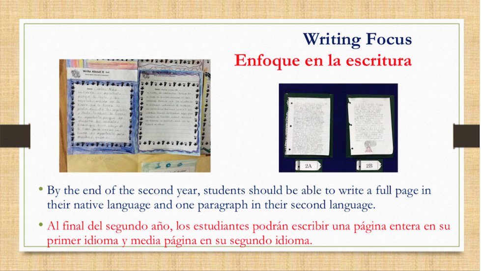 Dual language slide 16