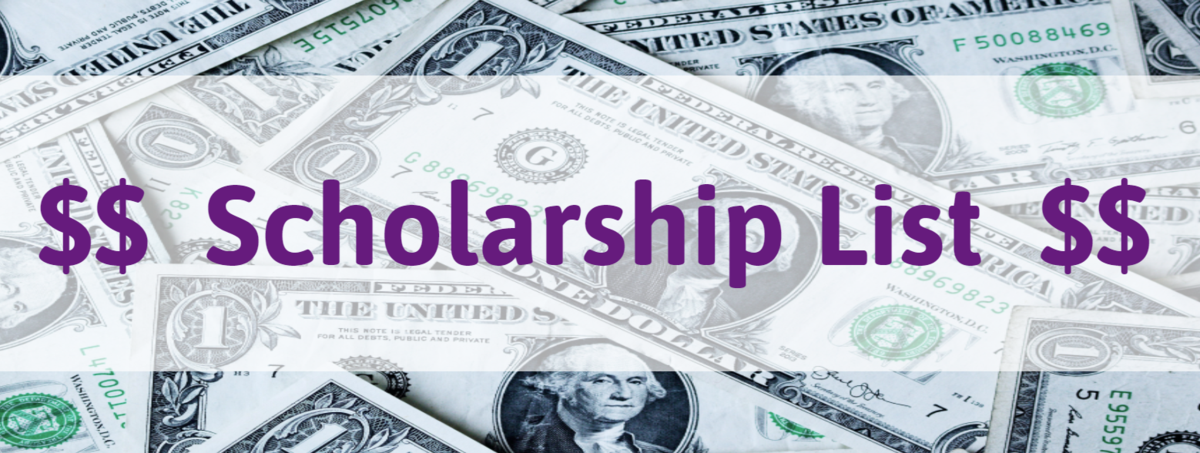 Scholarship List Link with money