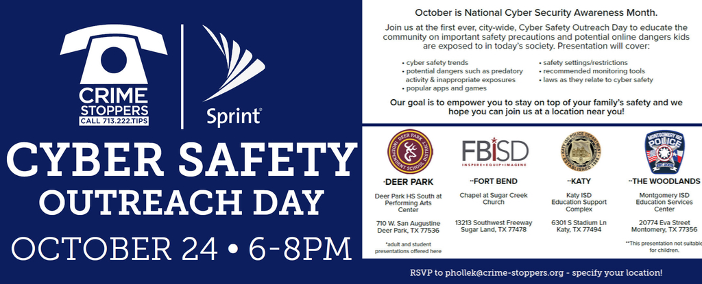 Cyber Safety Outreach Day