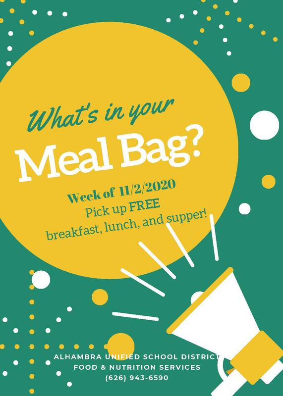 What's in your Meal Bag? (Week of November 2nd) Featured Photo