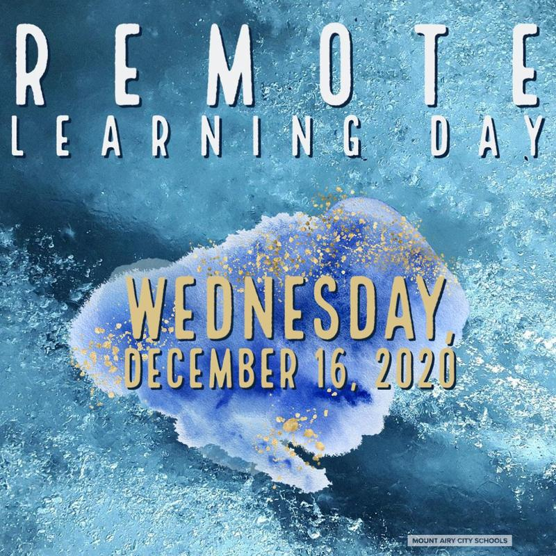 remote learning day