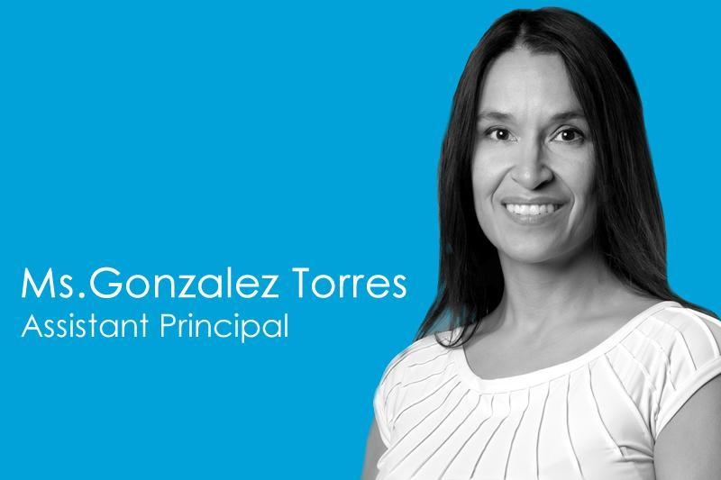 Image Assistant Principal Gonzalez Torres