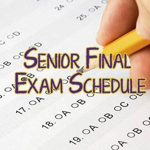 Senior Final Exams Thumbnail Image