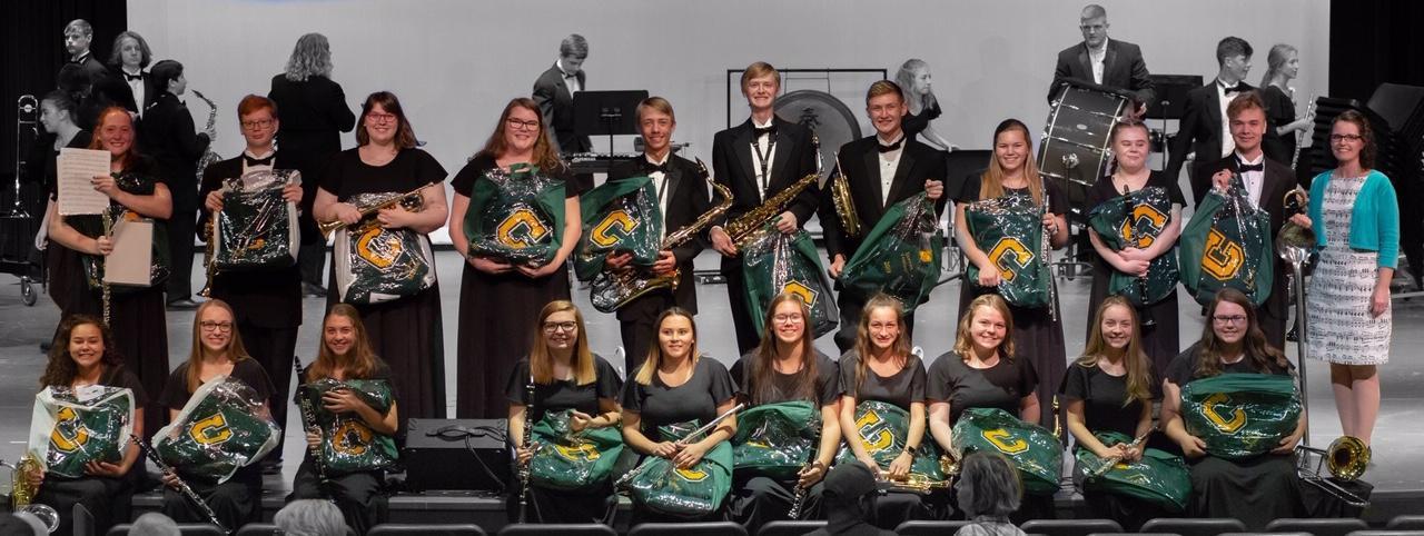 Class of 2019 Band Senior Photo