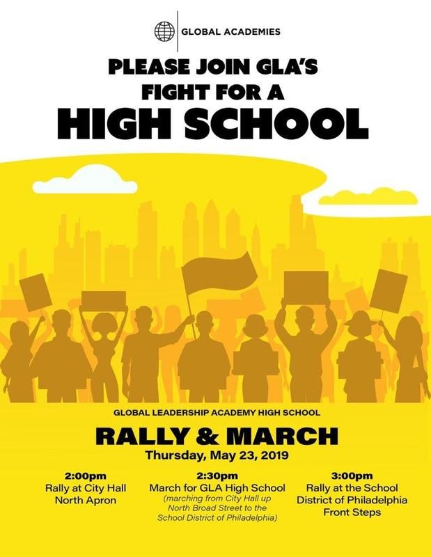 Rally for a High School TODAY! Scholars: Turn in your permission slips! Featured Photo