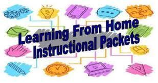 Letter to parents of At-Home Learners that receive packets Thumbnail Image