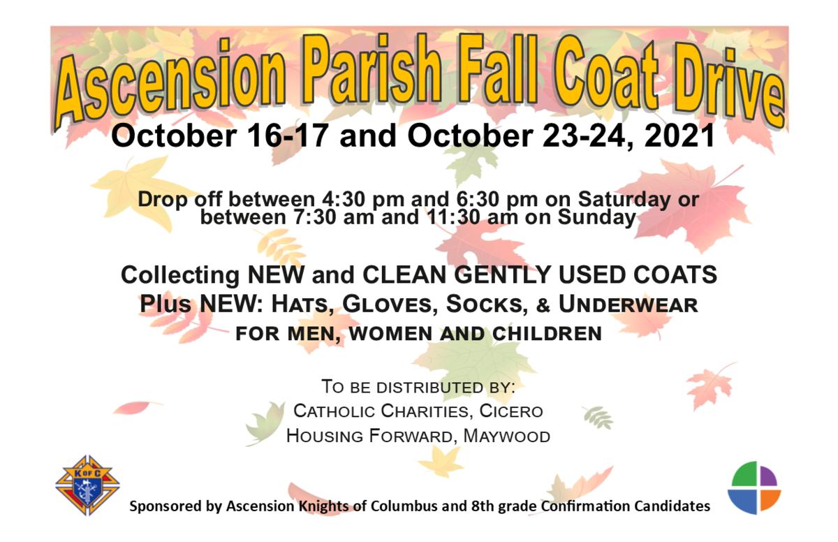 Fall 2021 Coat Drive