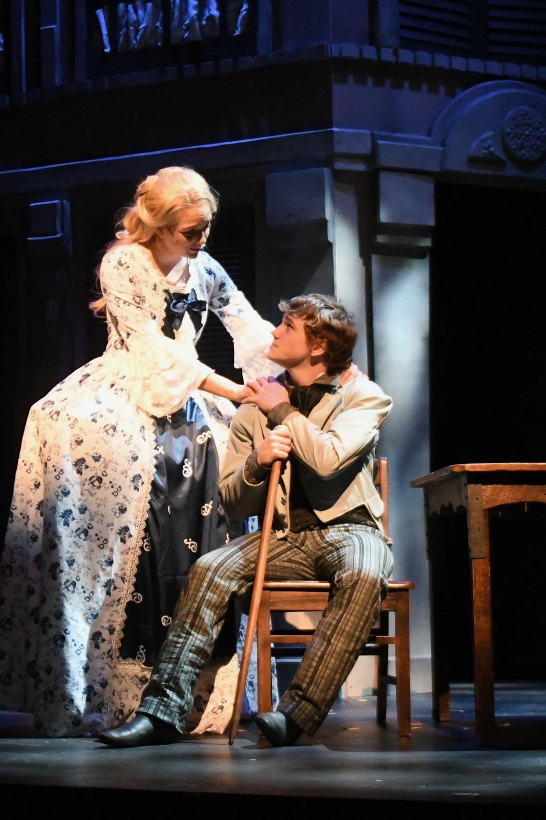 Cosette and Marius
