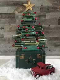 Tree made with books