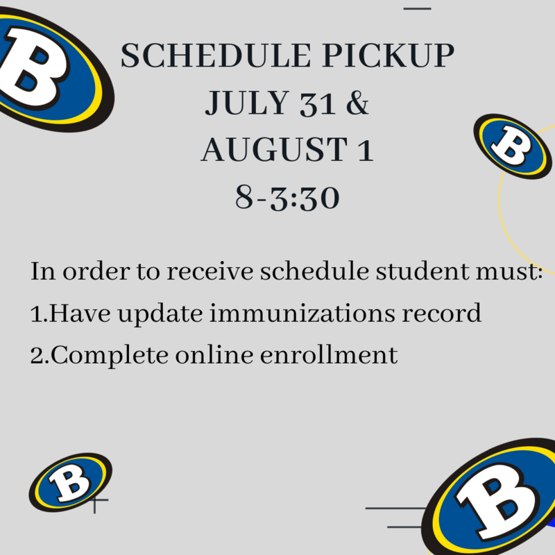 Schedule Pickup July 31- Aug. 1 Featured Photo
