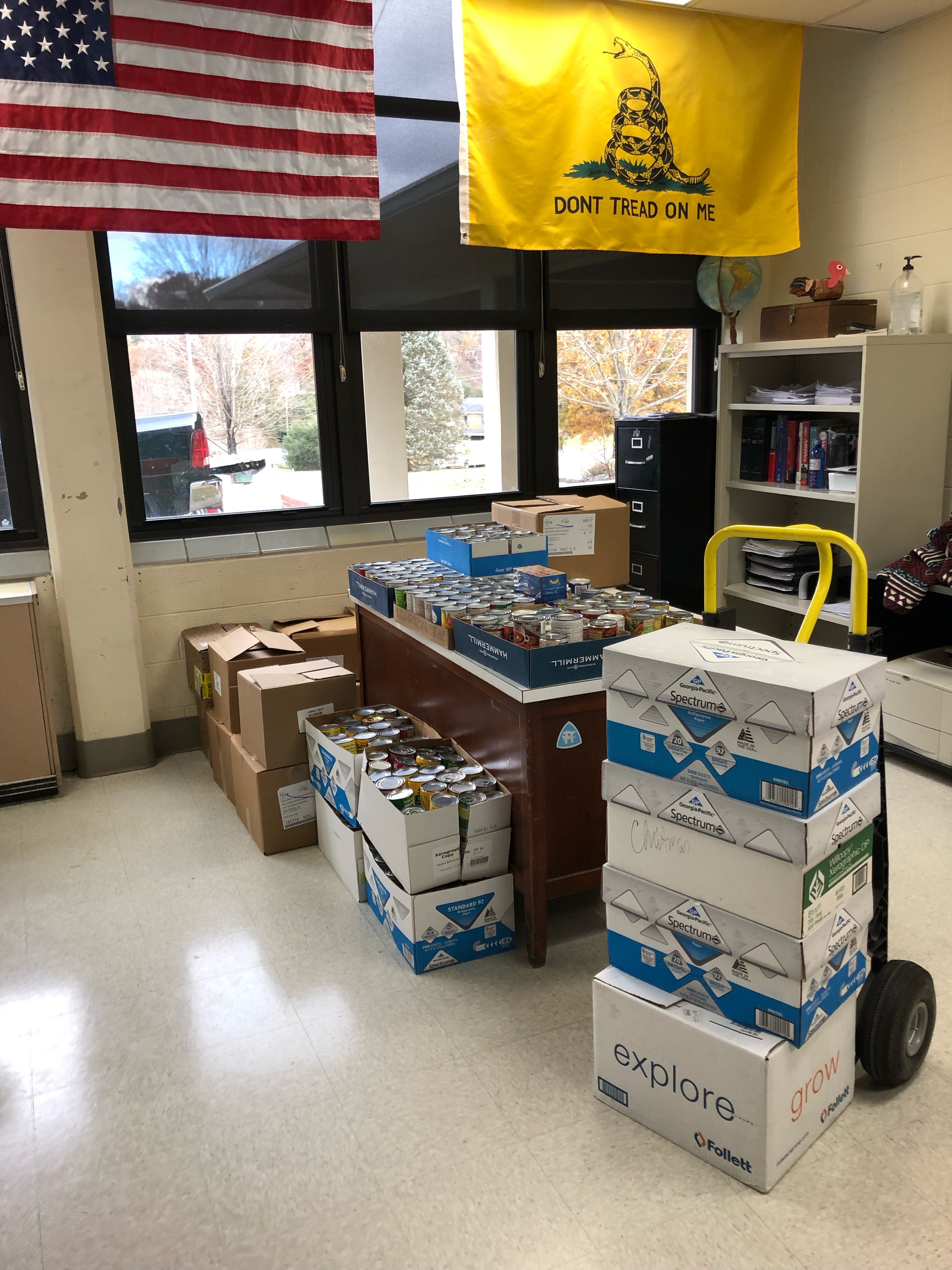 VHS raised 1,226 donations that were donated to the Haven of Rest Rescue Mission.