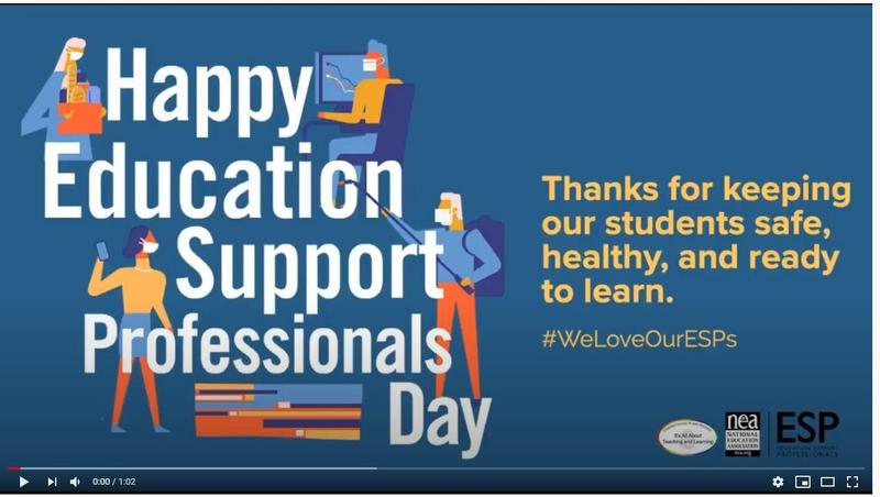 Happy Education Support Professionals Day!! Featured Photo