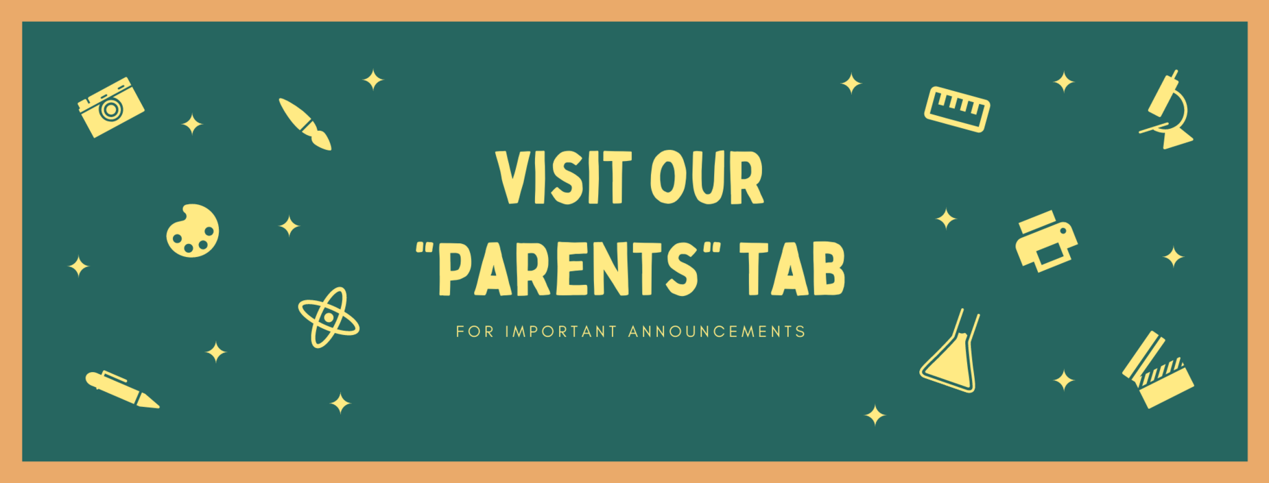Visit our Parents tab