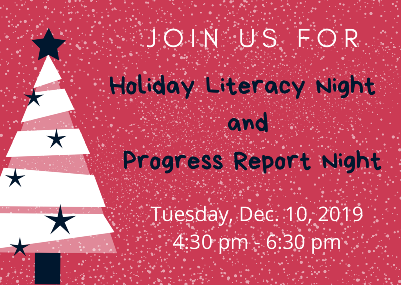Holiday Literacy Night & Progress Report Night Featured Photo