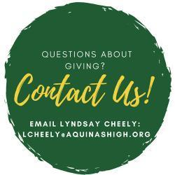 Contact lcheely@aquinashigh.org if you have any questions
