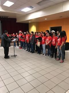 Seale Choir spreading Holiday cheer