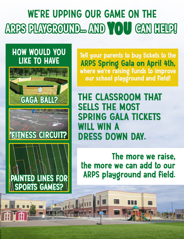 ARPS Playgroung Gala Flyer