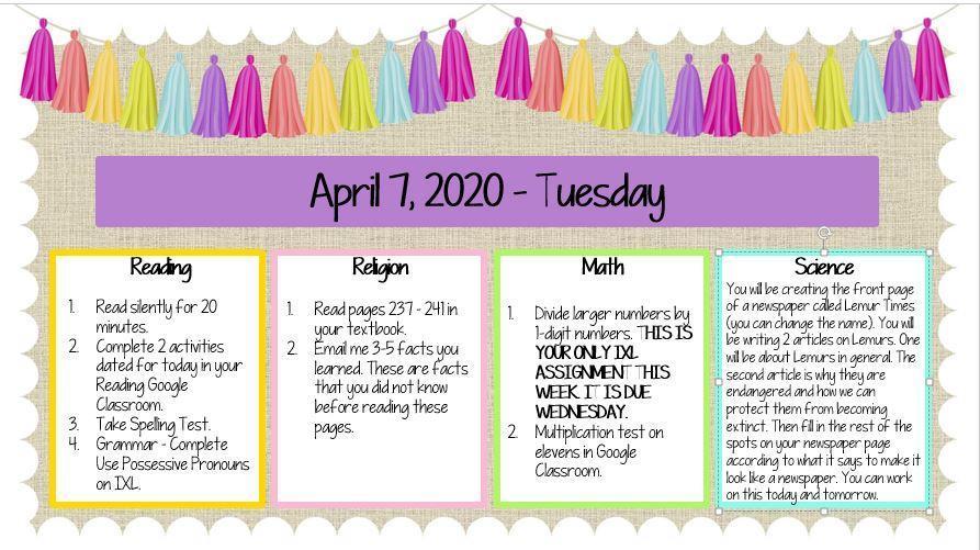 April 7, 2020