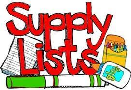 2020-2021 GIES Supply List Featured Photo