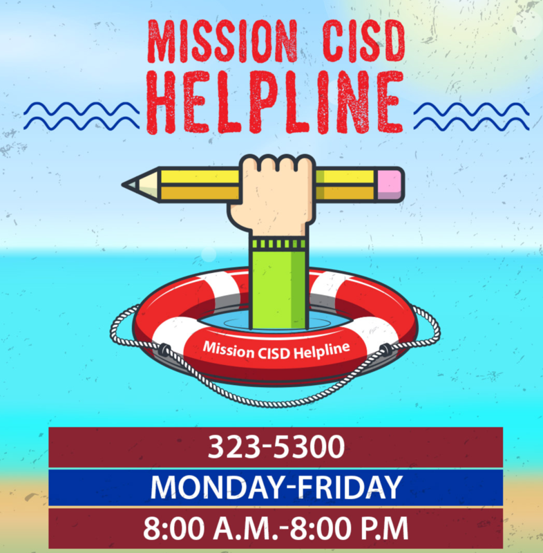 Mission CISD Helpline Featured Photo